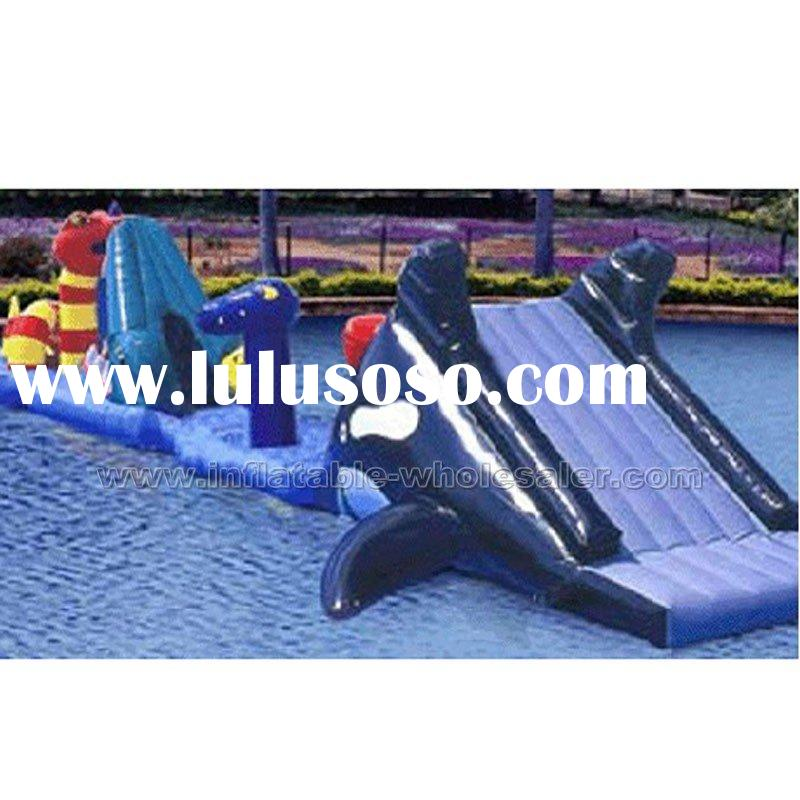 barrier challenge inflatable water park toy