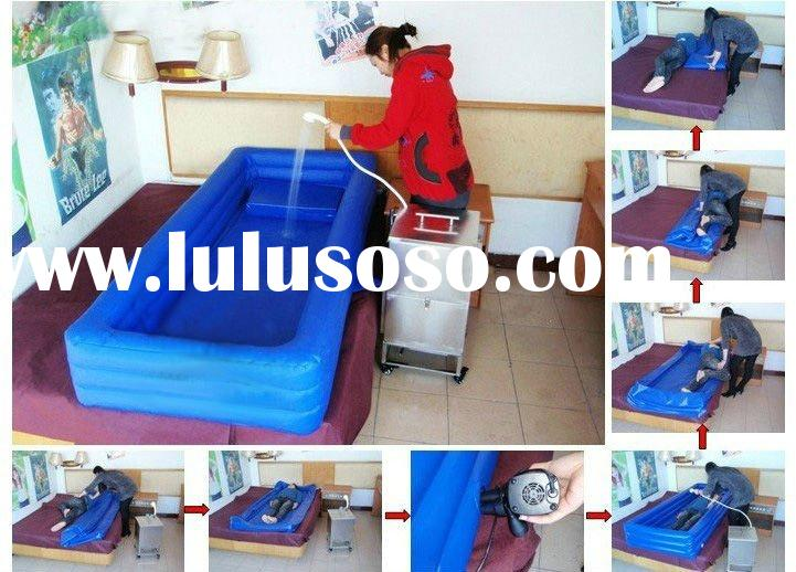 bath air bed---- washing for Paralyzed patients