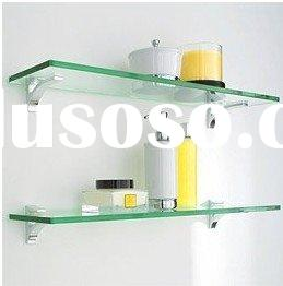 bathroom glass shelf J