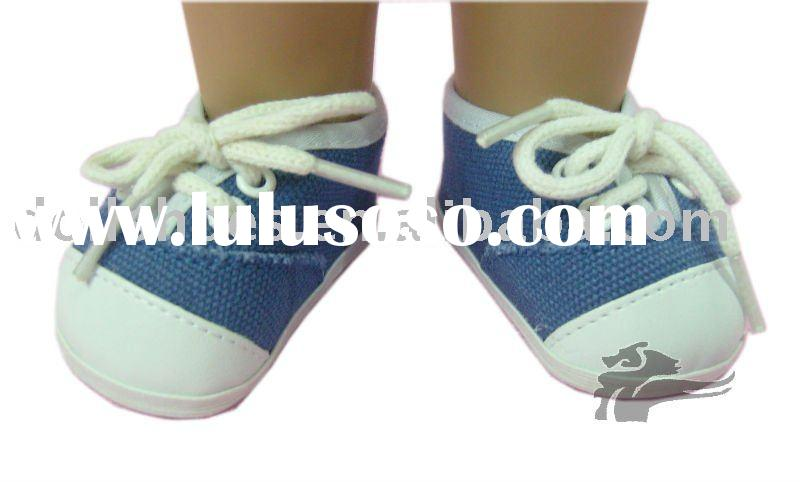 blue american girl doll shoes toy shoes in doll accessories