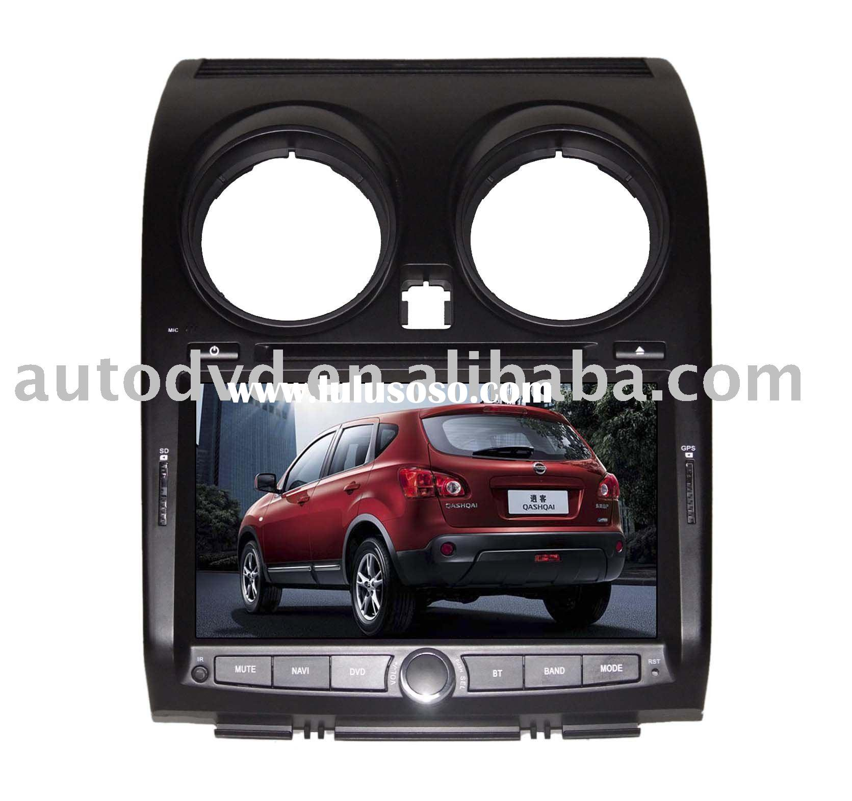 car DVD with window CE 6.0 system for Nissan Qashqai 2010 latest models