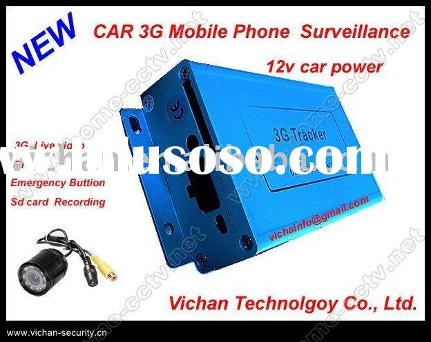 car DVR with GPS and 3G, 3G phone gps tracker, 3G video surveillance