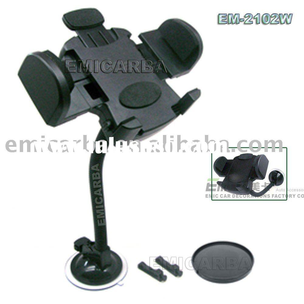 car GPS stand for Mobile Phone Iphone PDA - Car universal holder Part NO: EM 2102W