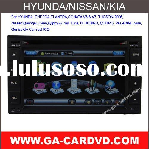 car dvd for Livina with bluetooth\GPS\IPOD
