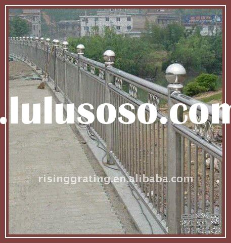 carbon steel pipe stair steel stanchion barrier