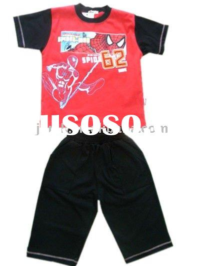 cartoon fashion kids clothes