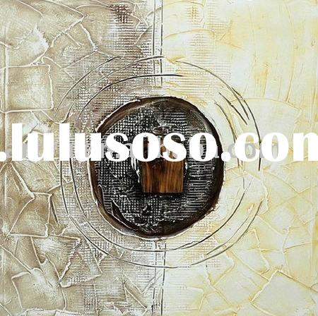 cheap modern decorative art painting on canvas