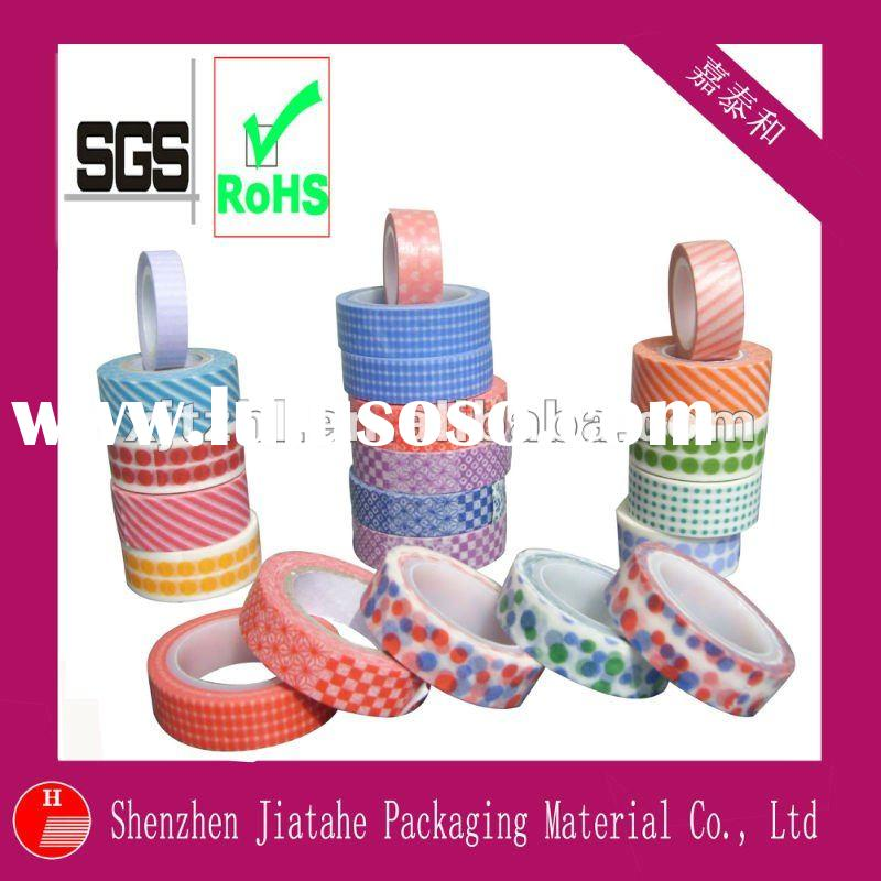 color washi masking tape (SGS)