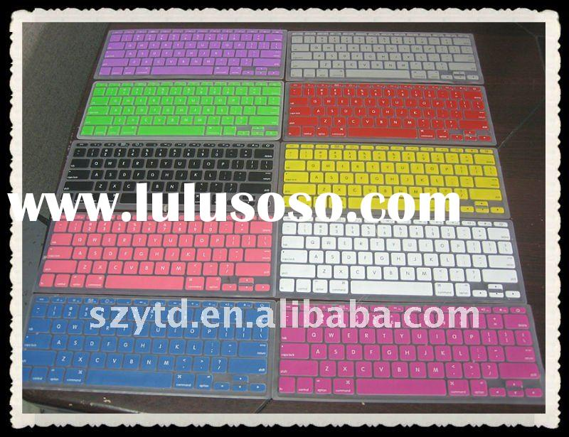 colored silicone rubber keyboard cover