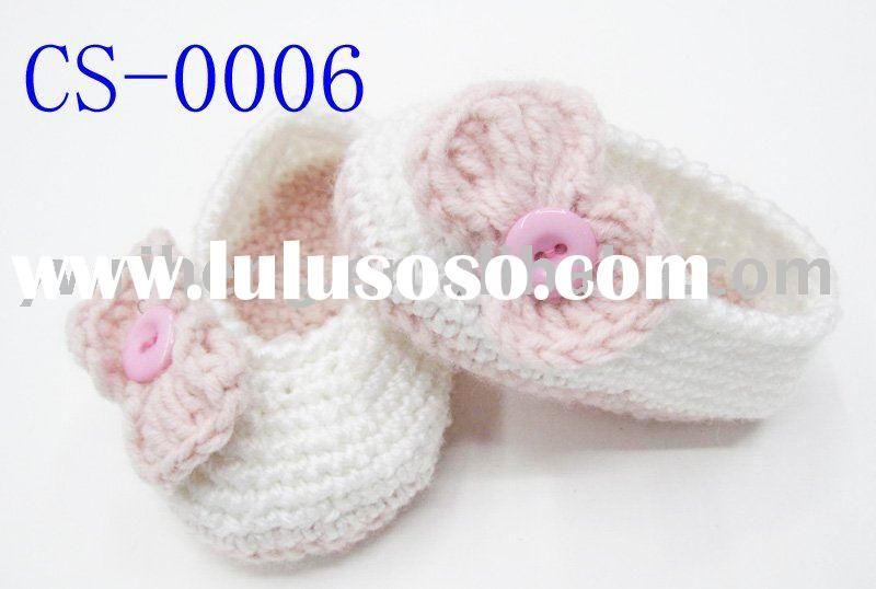 crochet baby shoes for quality