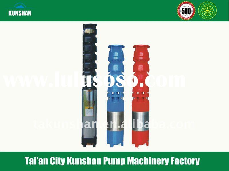deep well irrigation pump of submersible water pump