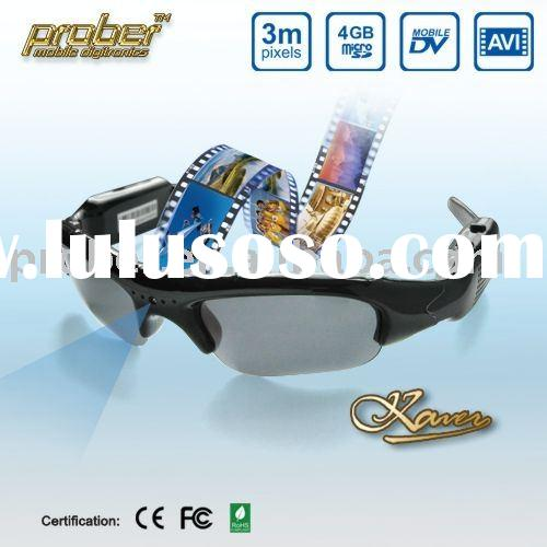 digital camera/wireless camera sunglasses/security camera glasses