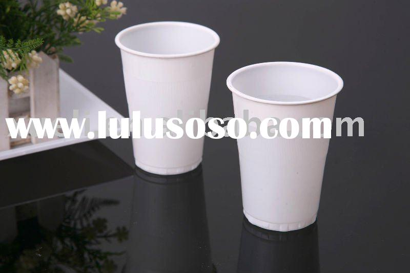 disposable plastic drinking cup for hot&cold water