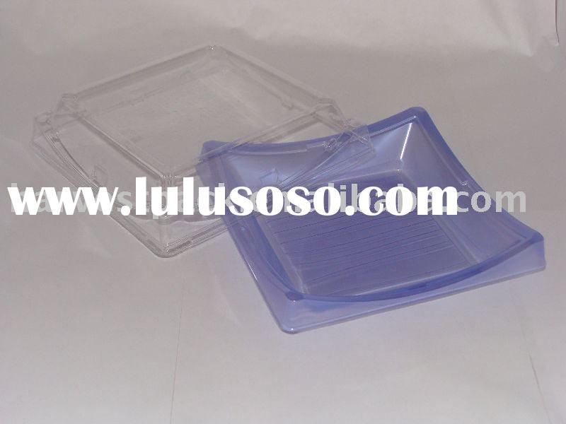 disposable plastic sushi container (BF-40)