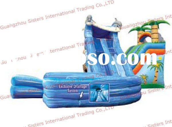 dolphin inflatable water jumper
