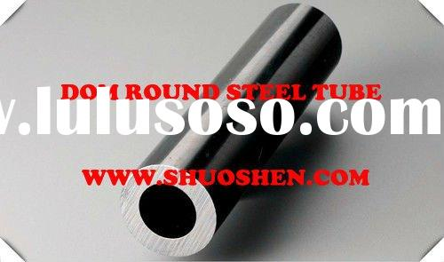 dom round steel tube and stainless steel