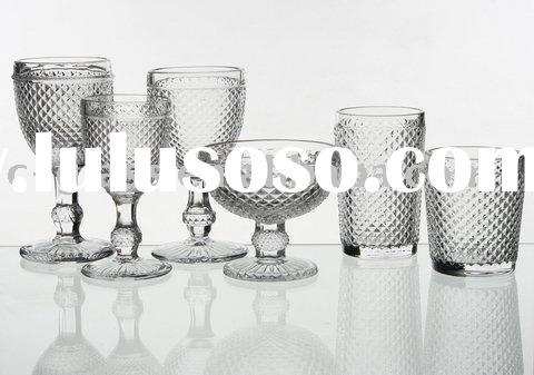 drinking glass cup/drinking glassware/wine glass/glass cup/glass bowl/glass ice cream bowl/food glas
