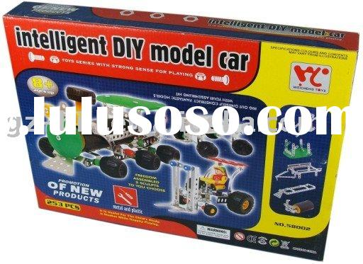 educational diy model car