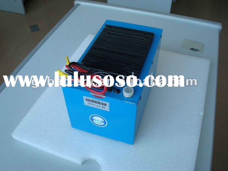 electric cars, motors 48V 14ah LiFePO4 battery pack