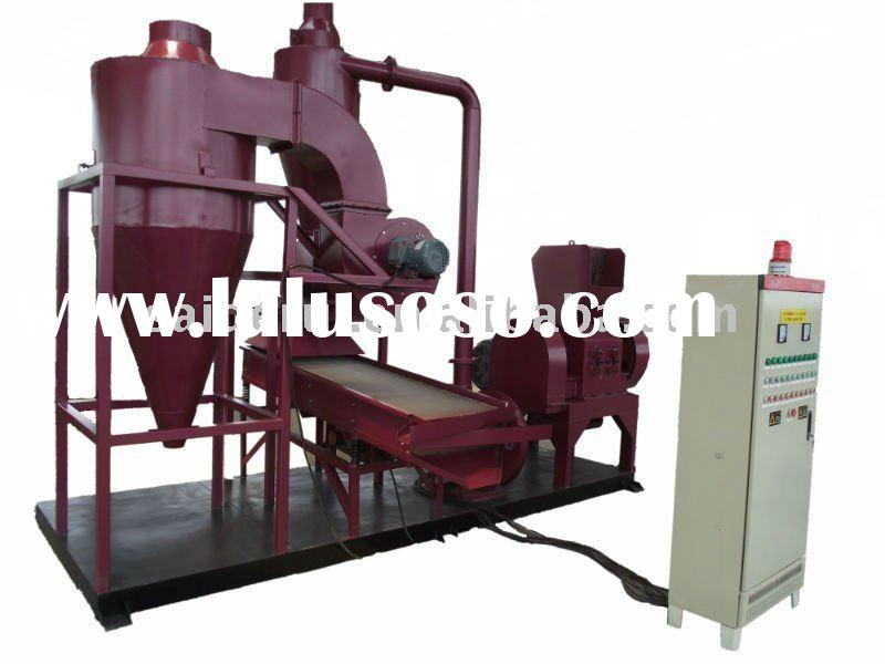 electric copper wire crusher and separator,waste cable recycling equipment,cable granulator