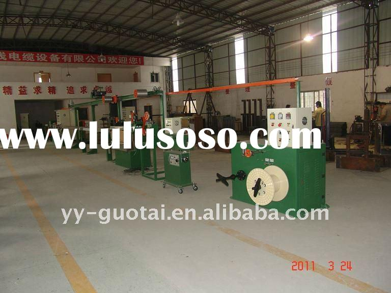 electric wire manufacturing line/cable making machine