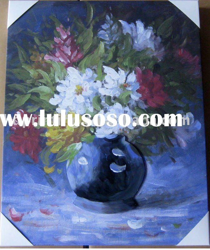 flower oil painting reproductions