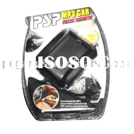 for PSP MP3 car FM transmitter/MP3 player/game consoles