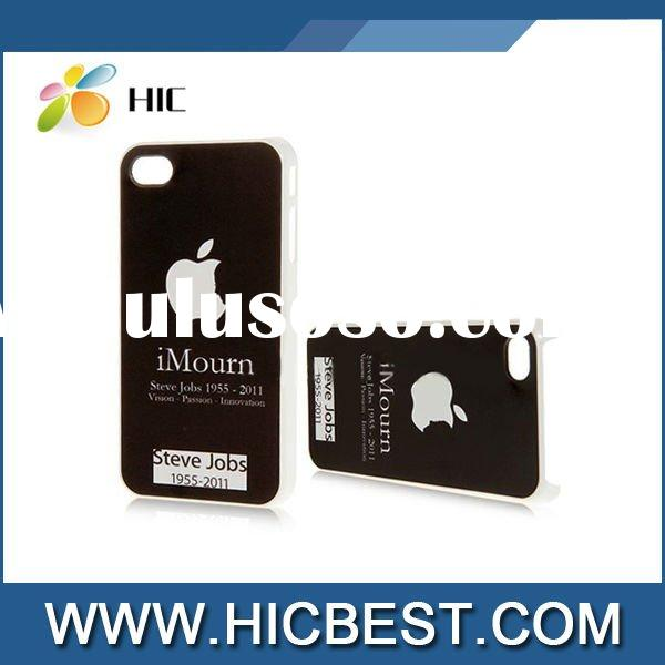 for apple 4g iphone case (In Memory of Steve Jobs)