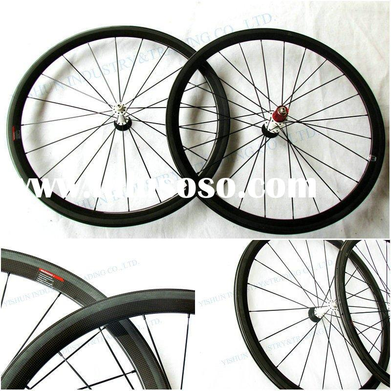 full carbon bike wheels,racing wheels,38mm clincher carbon wheels