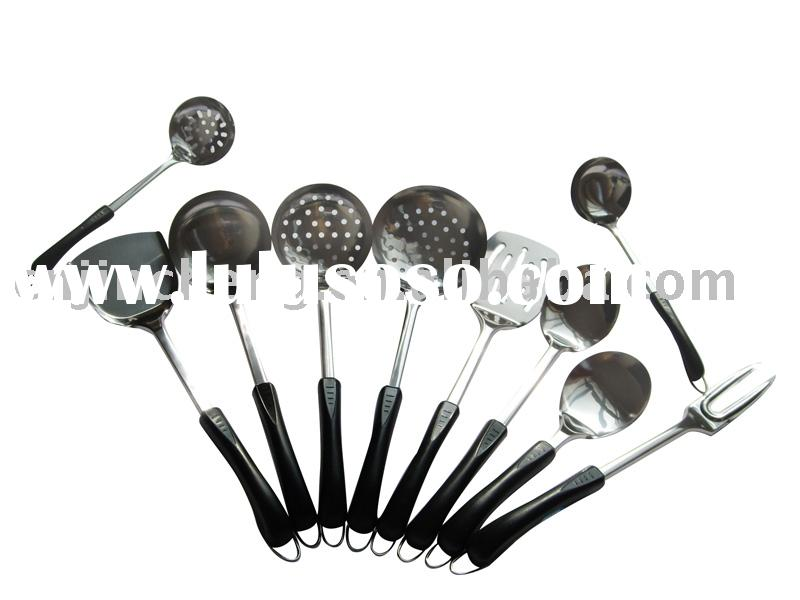 good quality kitchen utensil with black handle