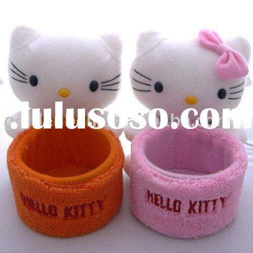 hello kitty plush mobile phone holder