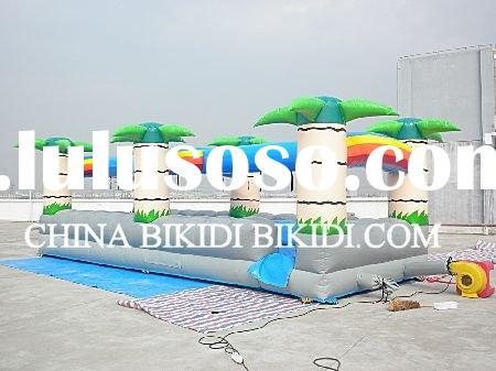 high quality commercial inflatable water slides for kids& adults
