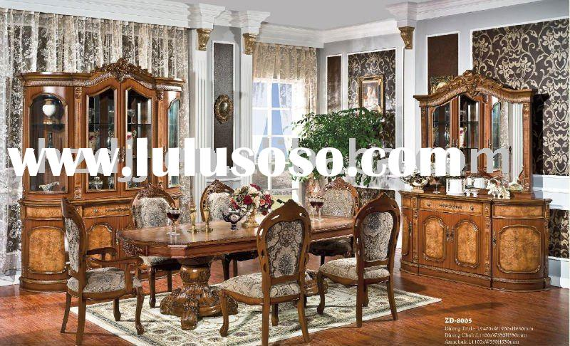 home furniture european classic dining room set 8005