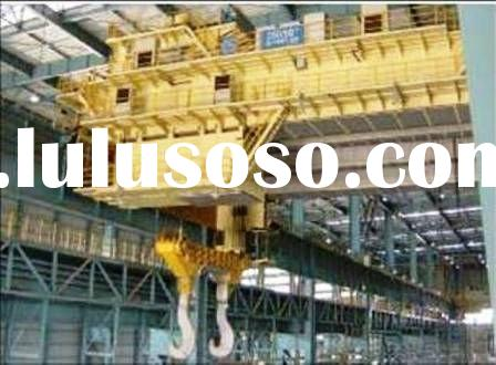hot metal overhead crane YZ + free spare parts
