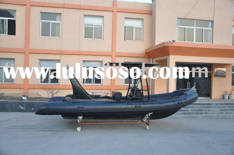 inflatable boat HYP660,semi-rigid boat,rib boat
