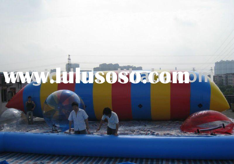 inflatable water blob/catapult