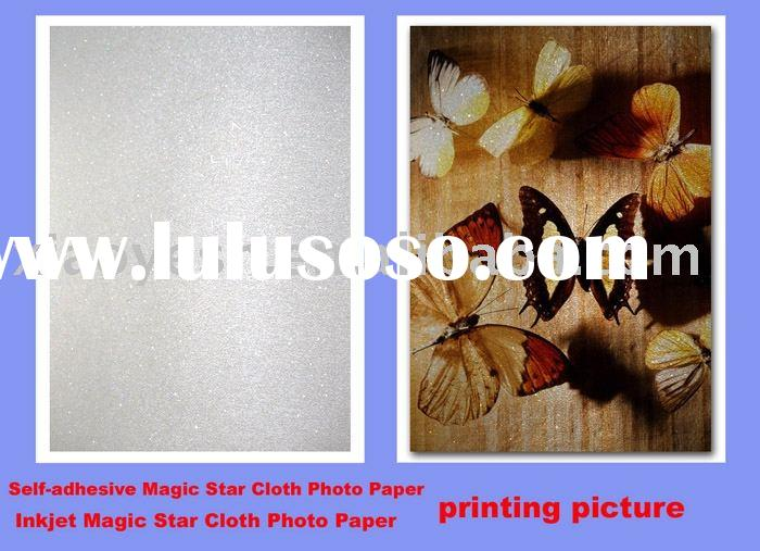inkjet magic star fabric photo sticker