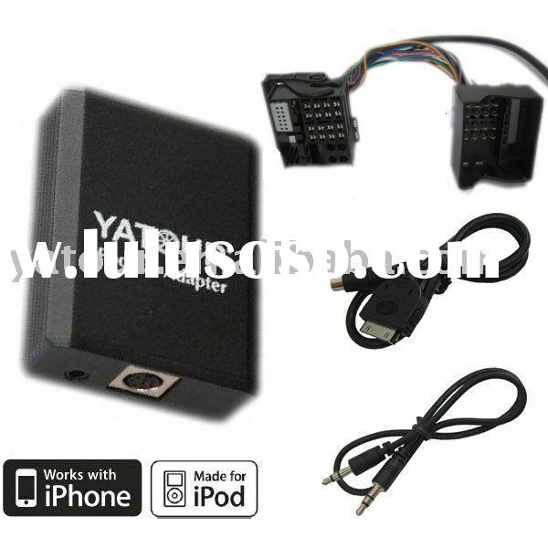 ipod/iphone car interface for BMW 40pin(CD changer adapter integration)