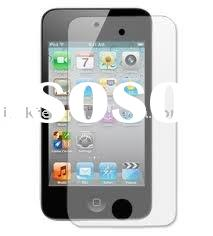 itouch 4 anti finger print screen protector /itouch 4 mirror screen protector