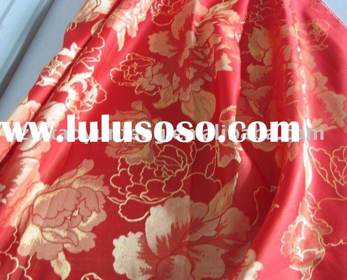 jacquard bed sheets fabric 2011 new design
