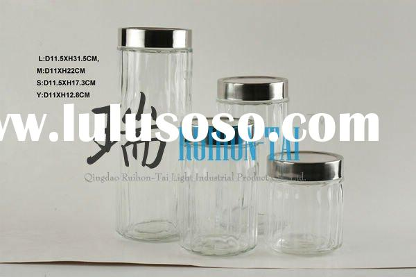 kitchen jars glassware