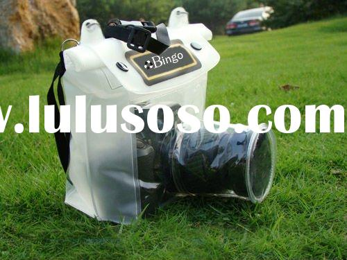 large waterproof case for slr digital camera in swimming diving
