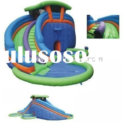 lazy river kids Inflatable water slide water park pool