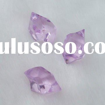 light purple beads stone, table filler beads stone, ice stone for vase filler
