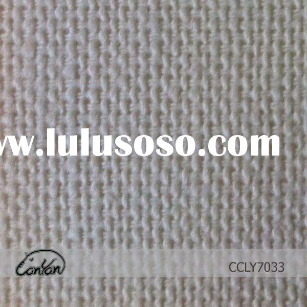 linen cotton yand dyed thick blended fabric