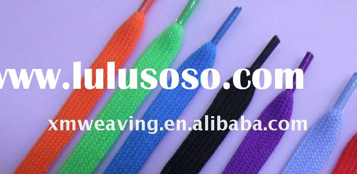 long new fashion polyester tie shoe lace