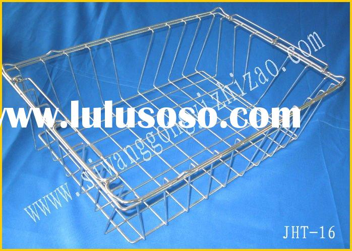 low price export steel cage , steel box , metal container , wire mesh basket, metal bin