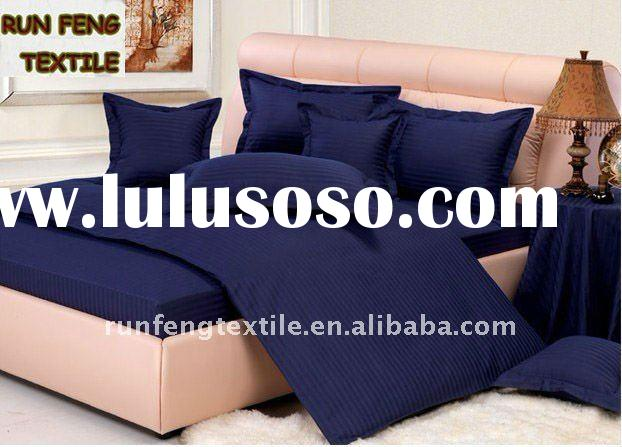 luxury hotel bedding set DARK SLATE BLUE
