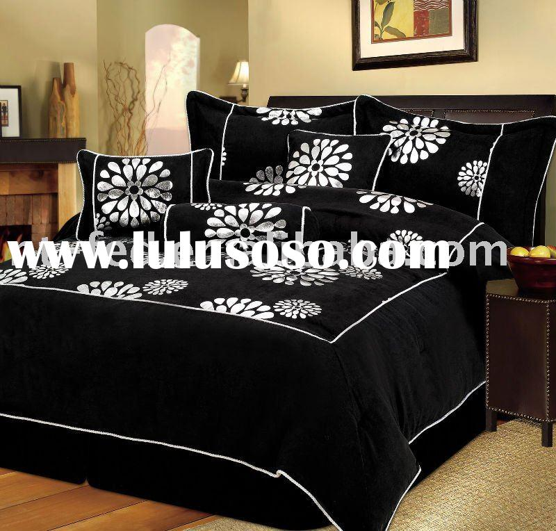 luxury micro suede bedding