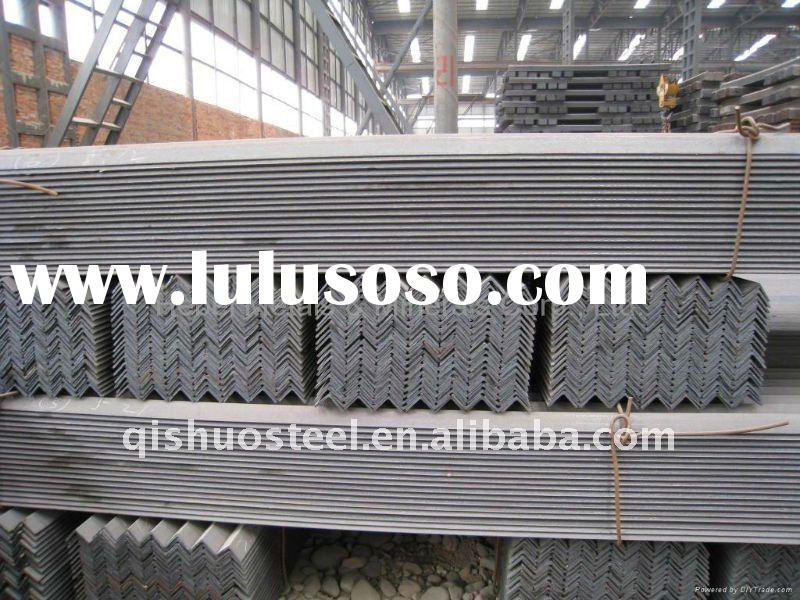 ms angle bars with material grade Q235 and SS400